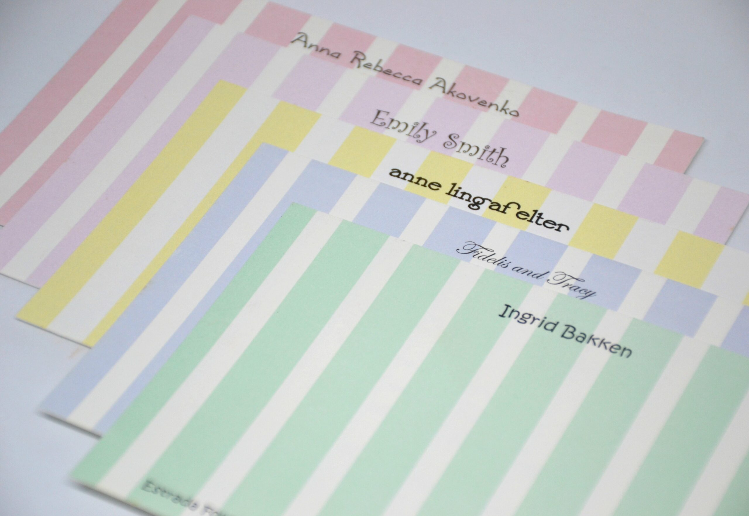 Note Cards & Personal Stationery